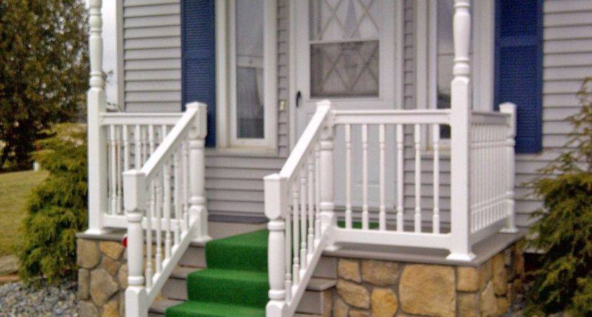 Vinyl Front Porch Railings