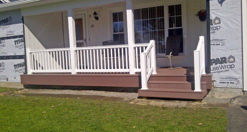Vinyl Porch Railings
