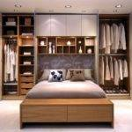 Wall Cabinet Decoration Minimalist Bedroom Design