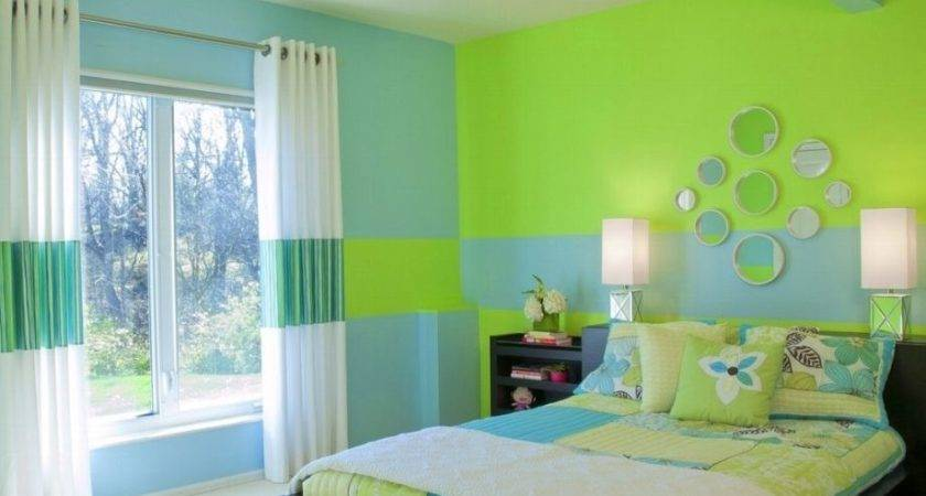 Wall Colour Combination Green Living Room Colors