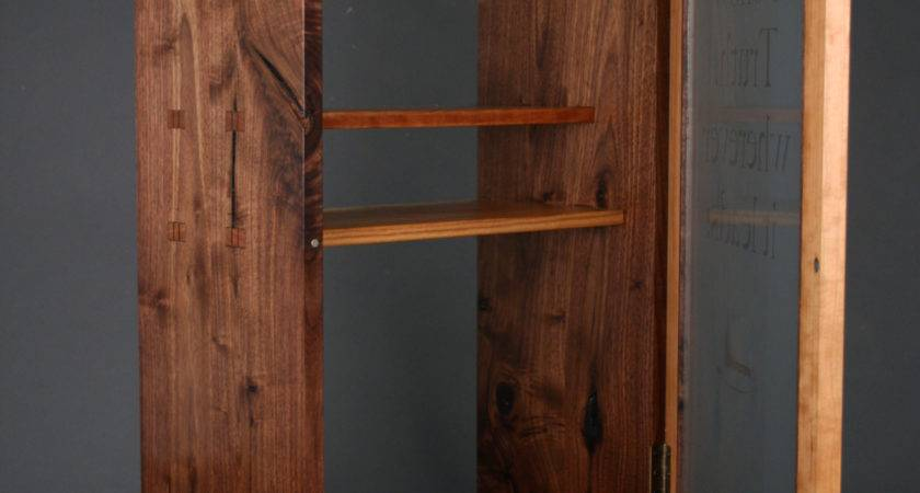 Wall Hanging Bookcase Lines Chisels Brayers