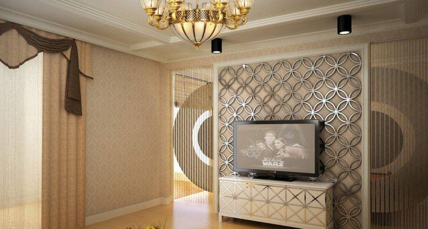 Wall Interior Design Rendering