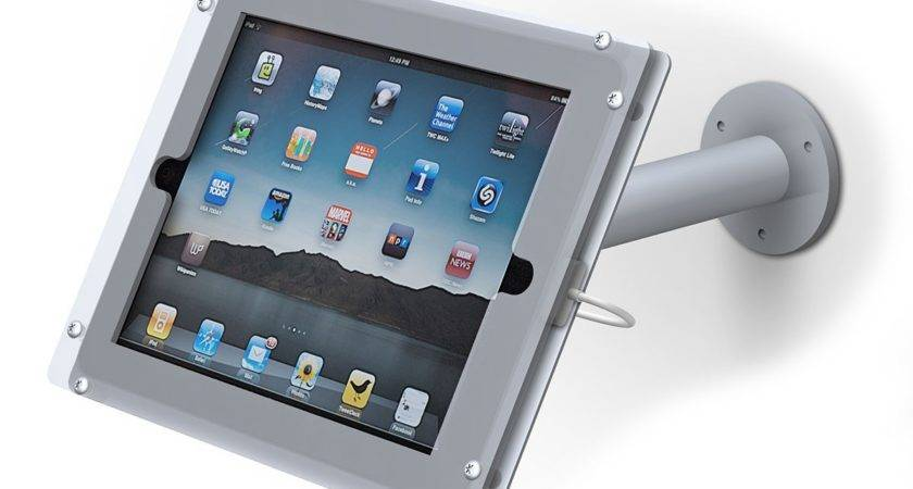 Wall Mount Ipad Stand Power Graphics