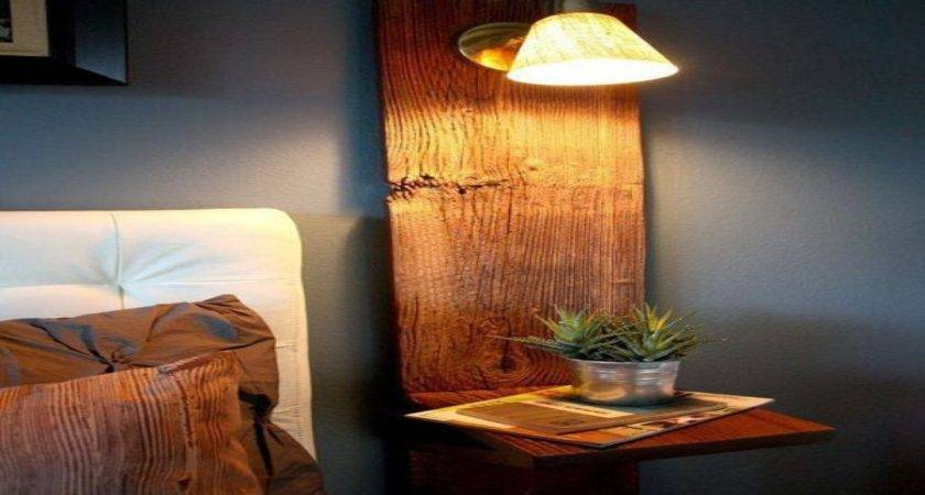 Wall Mounted Bedside Shelves Nightstands Small Spaces
