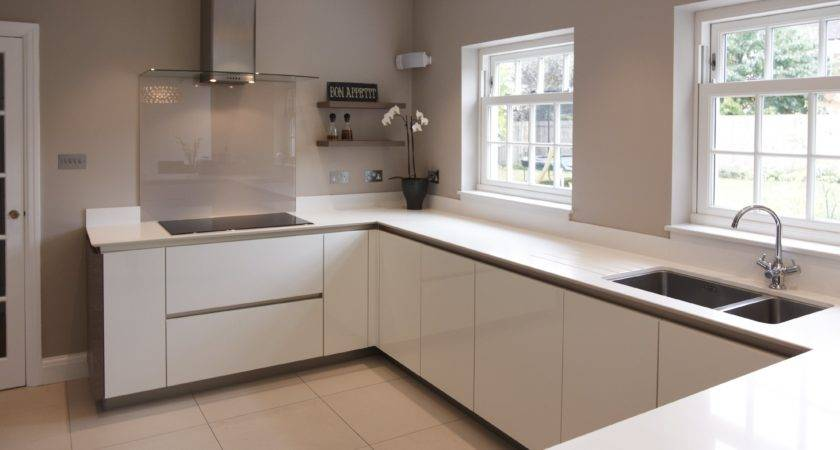White Gloss Kitchen Cabinets Tjihome