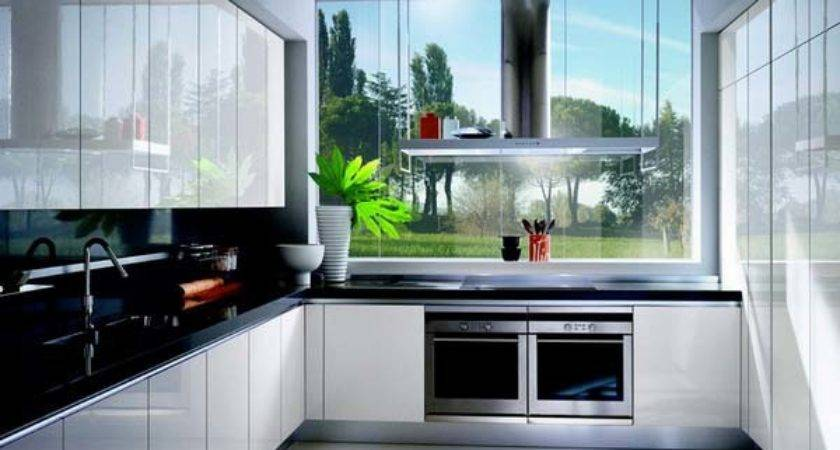 White Gloss Lacquer Kitchen Cabinets Design Ernestomeda