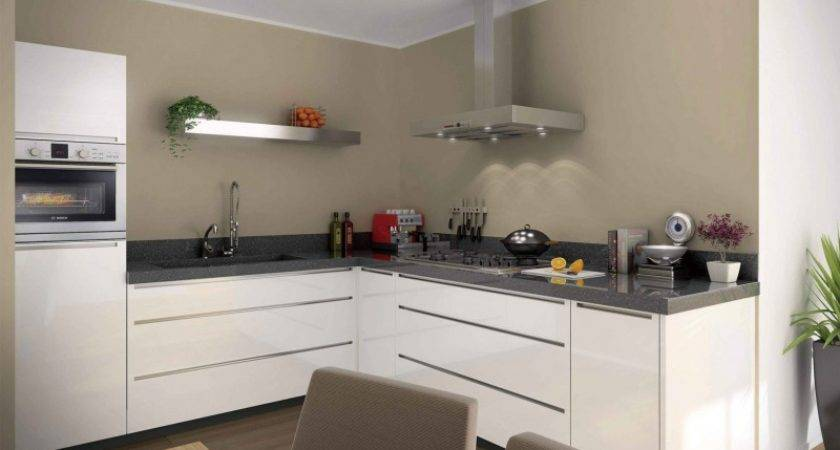 White Lacquer Kitchen Cabinets