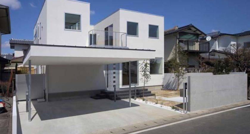 White Modern House Yds Architects