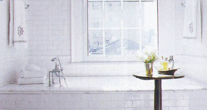 White Subway Tile Bathroom Different Details