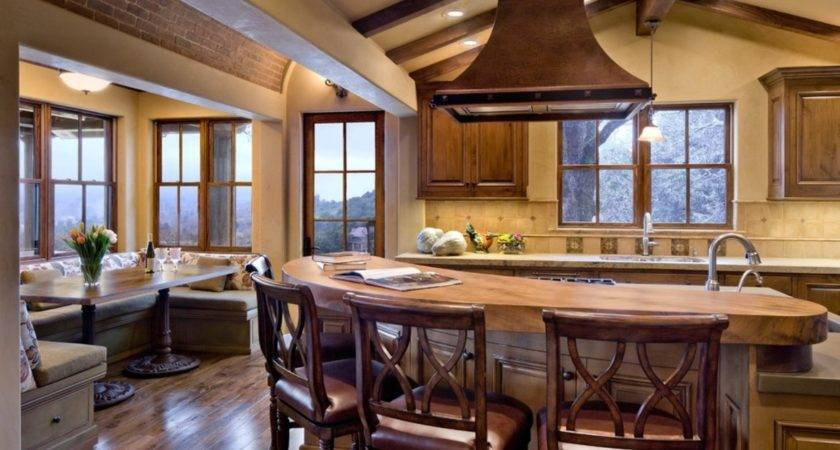 Wine Country Estate Rustic Kitchen Outstanding Decor Ideas
