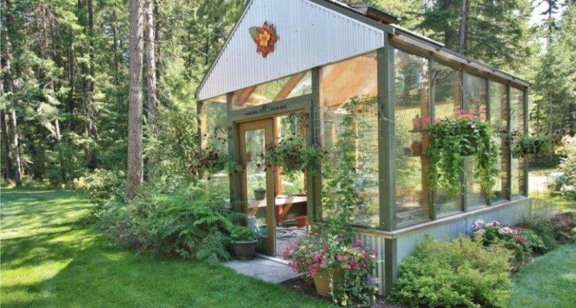 Wonderful Backyard Greenhouse Ideas