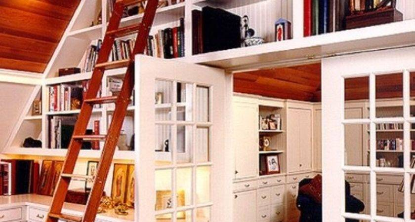 Wonderful Home Library Ideas