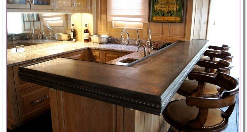 Wood Cabinet Its Countertops Home Reviews