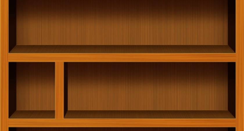 Wooden Bookshelf Psd Icons Graphicsfuel