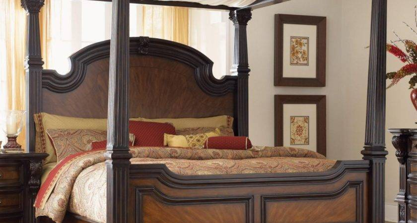 Wooden Canopy Bed Frames Decosee