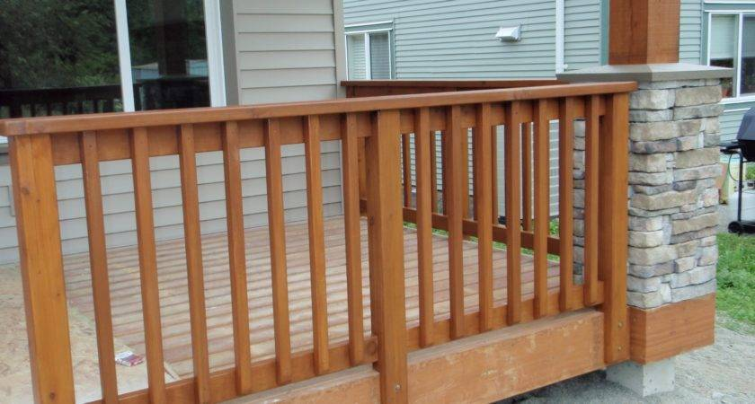 Wooden Porch Railing Systems