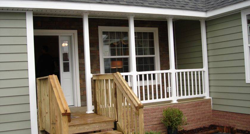 Wooden Porch Railings