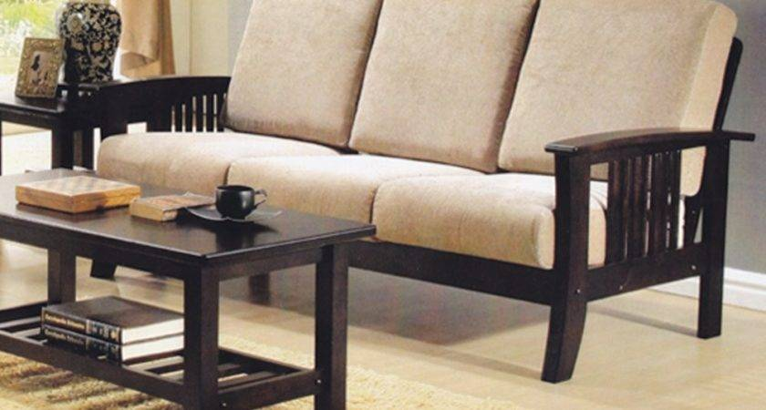 Wooden Sofa Cushions Wood Couches