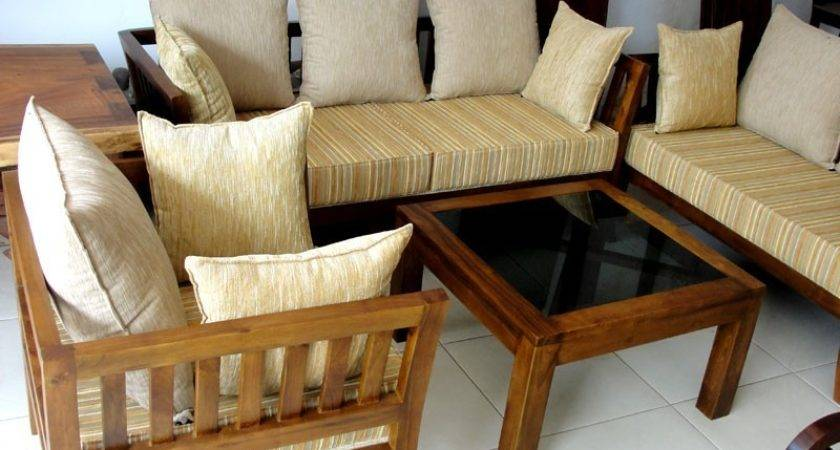 Wooden Sofa Set Designs Awesome Simple