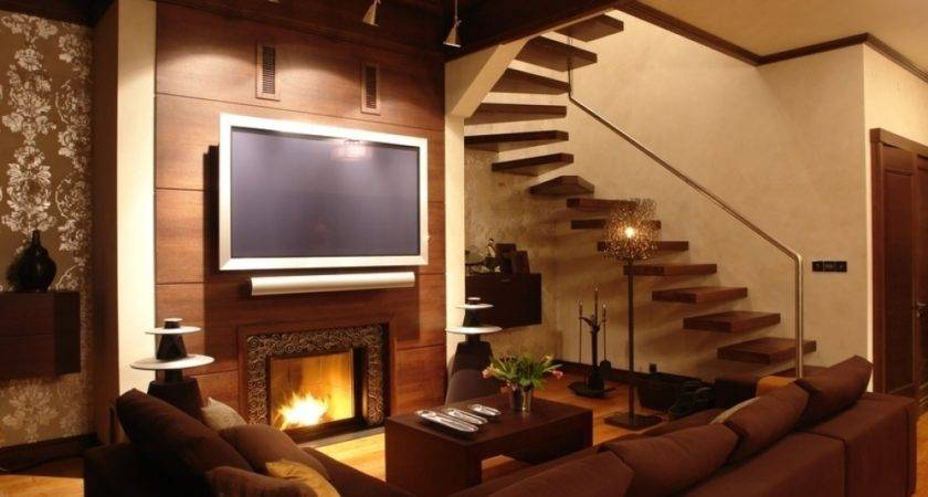 Woodwork Design Living Room Home Interior Ideas