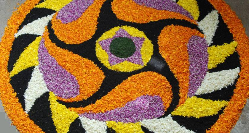Worlds Largest Collection Pookalams Flower Carpet