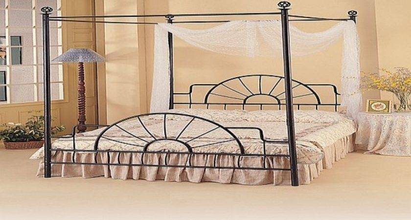 Wrought Iron Canopy Bed Beds