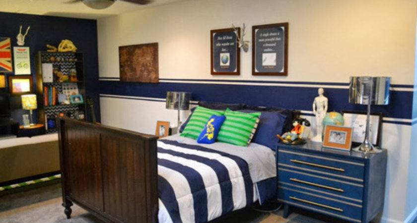 Zoning Tween Boy Bedroom Makeover Better After